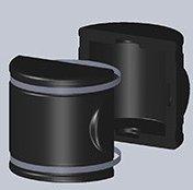 snímatelná izolace DH BOX pro mezipřírubovou klapku