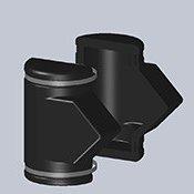 snímatelná izolace DH BOX pro filtr přírubový
